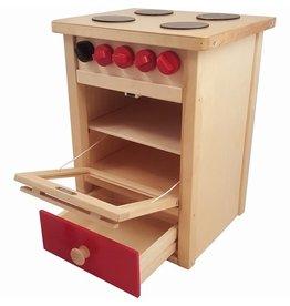 Playwood Fornuis Blank Rood 45 cm