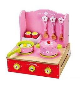 Playwood Fornuis Opklapbaar Pink