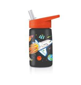 "Crocodile Creek Tritan Bottle ""Space Explorer"""