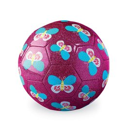 "Crocodile Creek Glitter Soccer Ball ""Butterflies"""