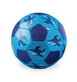 """Crocodile Creek Glitter Soccer Ball """"Sharks"""""""