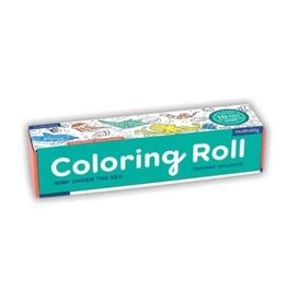 """Mudpuppy Coloring Roll """"Under the Sea"""""""