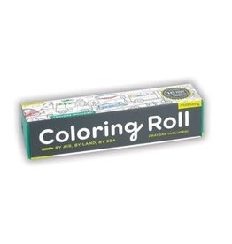 """Mudpuppy Coloring Roll """"By Air, By Land, By Sea"""""""