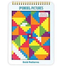 "Mudpuppy Pixel Pictures ""Bold Patterns"""