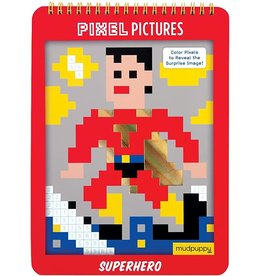 "Mudpuppy Pixel Pictures ""Superhero"""