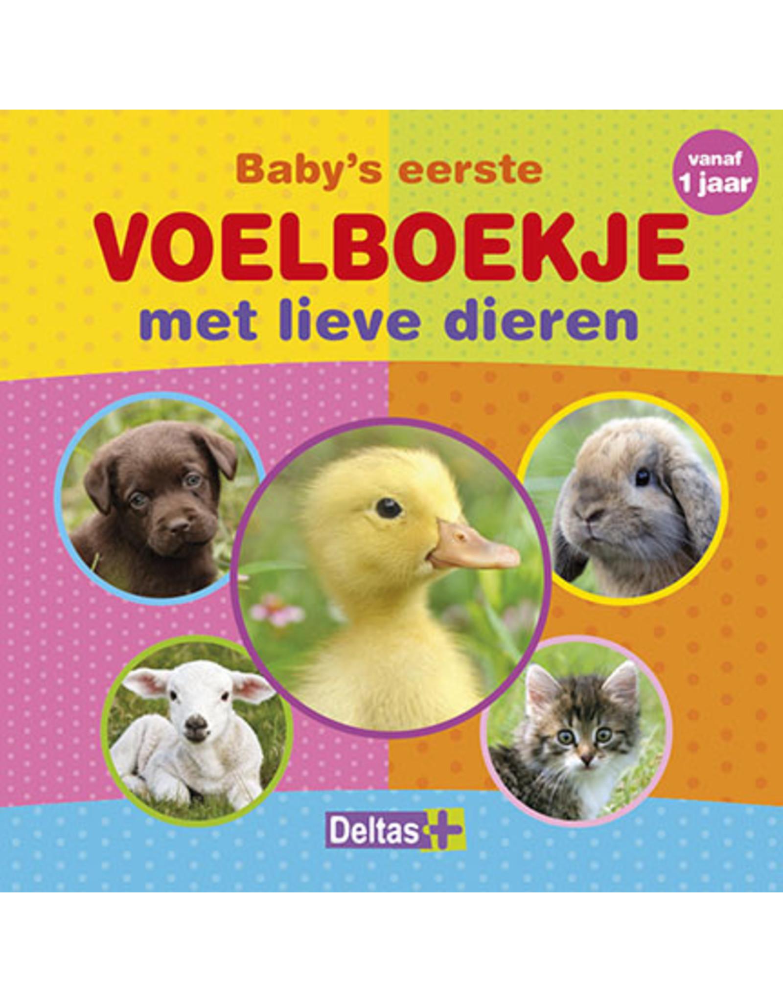 Deltas Baby's eerste voelboekje met lieve dieren