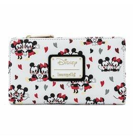 Disney Wallet Disney Mickey and Minnie Mouse Love All Over Print