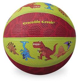 """Crocodile Creek 14 cm Rubber Basketbal """"Dinosaurs"""""""
