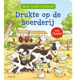 """Deltas Mijn leuke kijkboek """"Drukte op de boerderij"""""""