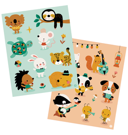 "Bora Stickervellen ""Little Mouse and Friends"""