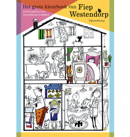 Annie M.G. Schmidt Het grote kleurboek van Fiep Westendorp
