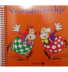 Vriendenboekje Clowns