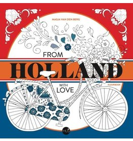 "Kleurboek ""From Holland with love"""