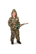 Camouflage Outfit Verkleedpak