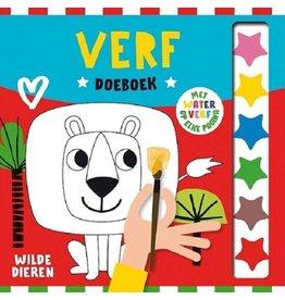 """Verf Doeboek """"Wilde Dieren"""""""