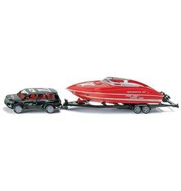 Siku Siku 2543 - 1:55 Auto met Speedboot