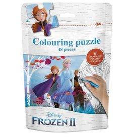 "Frozen Colouring Puzzle ""Group"""