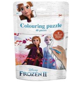 """Frozen Colouring Puzzle """"Anna en Elsa"""""""