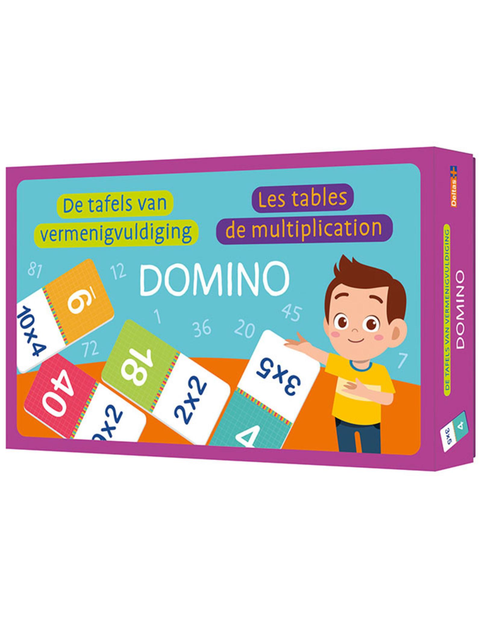 Deltas Domino - De tafels van vermenigvuldiging
