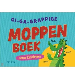 Deltas Gi-ga-grappige moppenboek voor kinderen