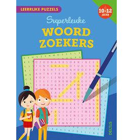 Deltas Leerrijke Puzzels - Woordzoekers 10-12 jaar