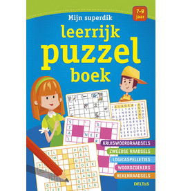 Deltas Mijn superdik leerrijk puzzelboek 7-9 jaar
