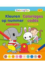 Deltas Coloring Fun - Kleuren op nummer (5-7 jaar)