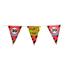 Party Vlaglijn Verkeersbord met Leeftijd