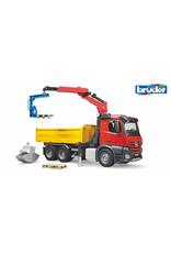 Bruder Bruder 3651 - MB Arocs Construction truck with crane