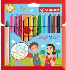 Stabilo Stabilo Cappi Viltstiften (12 stuks)