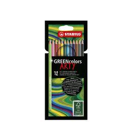Stabilo Stabilo Greencolors Kleurpotloden (12 stuks)