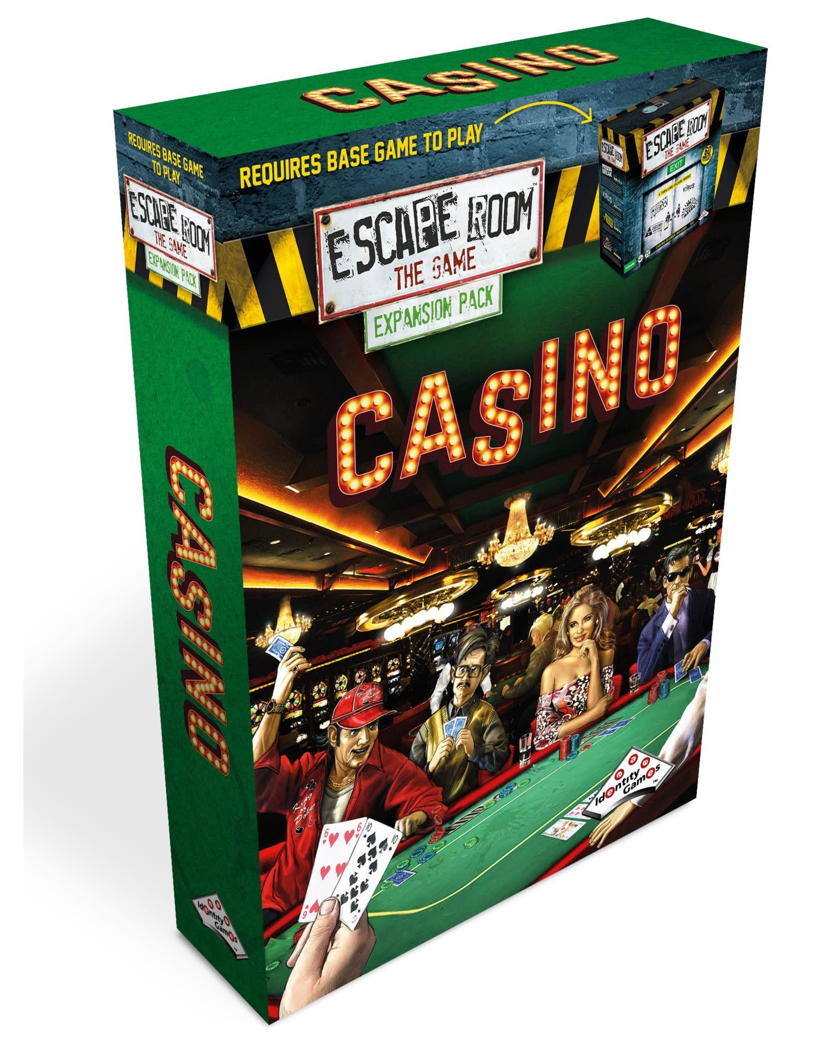 """Identity Games Escape Room Expansion Pack """"Casino"""""""