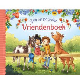 """Deltas """"Gek op paarden"""" Vriendenboek"""