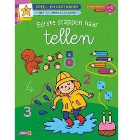 Deltas Speel- en oefenboek 4-5 jaar - Eerste stappen naar tellen