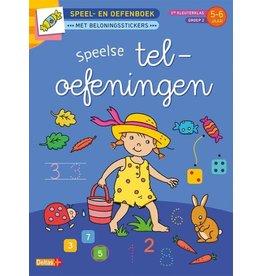 Deltas Speel- en oefenboek 5-6 jaar - Speelse teloefeningen
