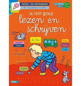 Deltas Speel- en oefenboek 6-7 jaar - Ik leer goed lezen en schrijven