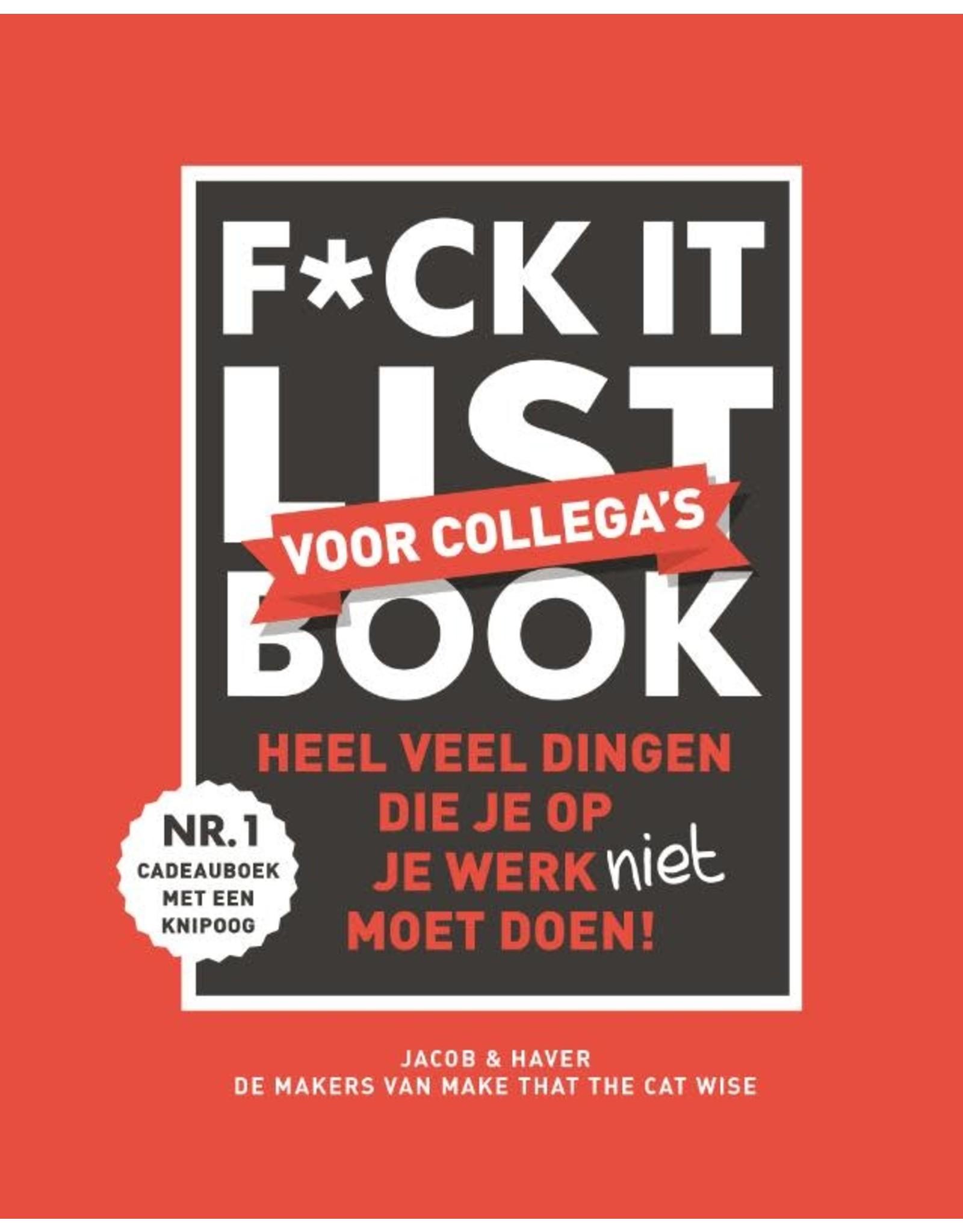 F*ck it list book voor collega's