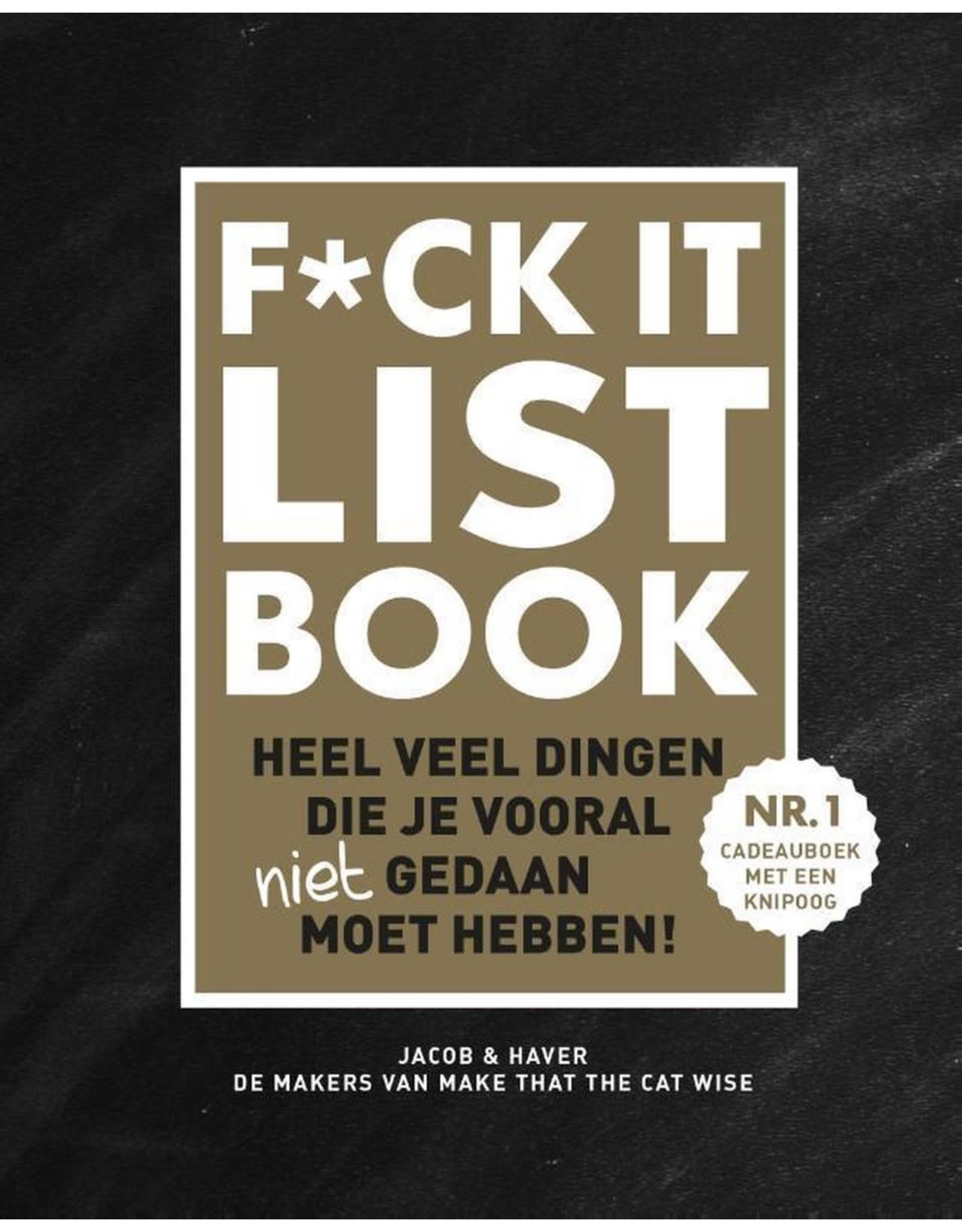 F*ck it list book