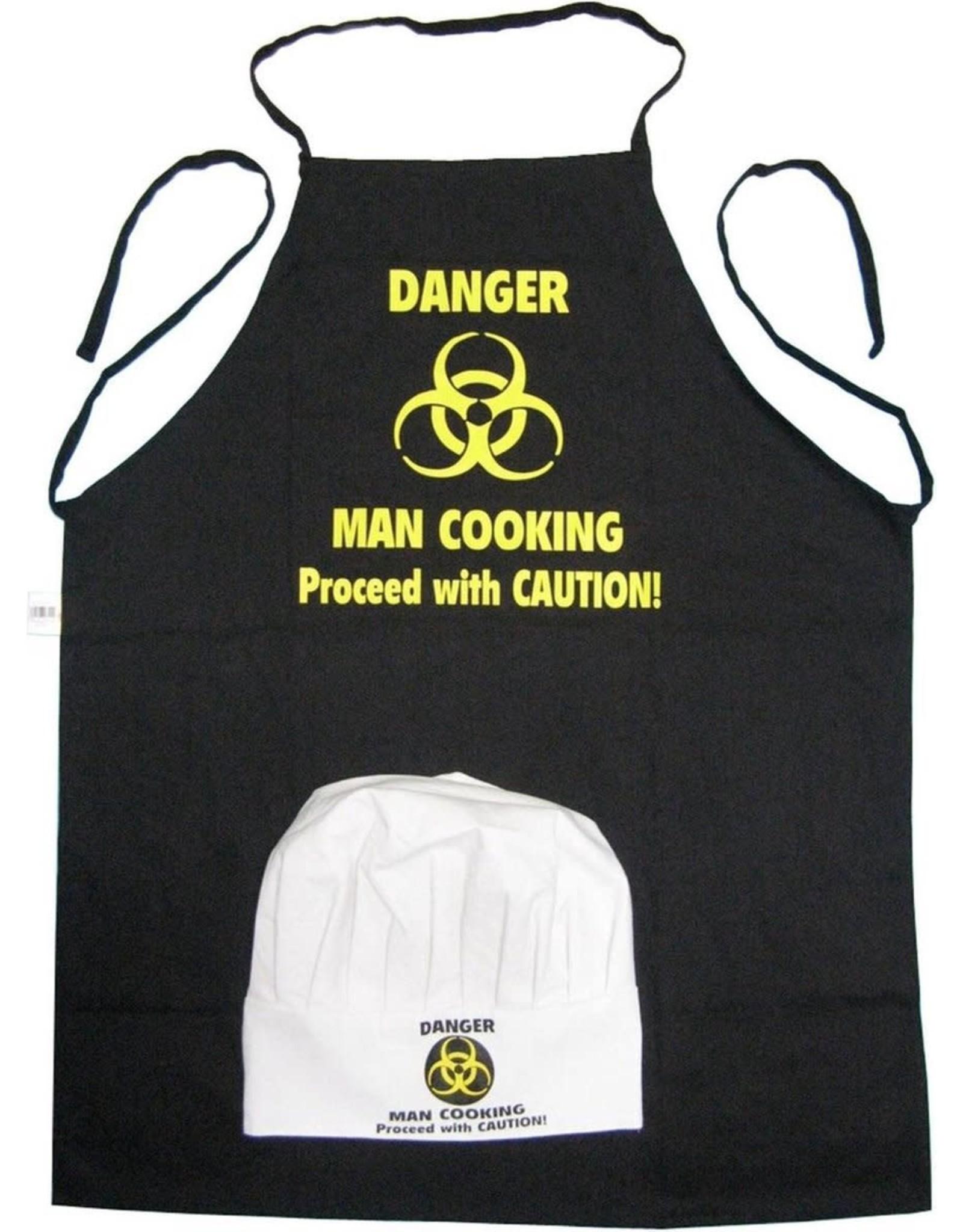BBQ Schort en Chef's Muts