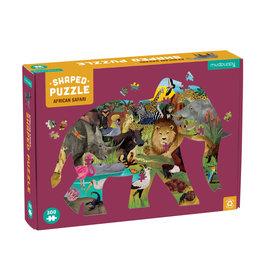 "Mudpuppy Shaped Puzzle 300 st ""African Safari"""