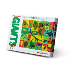 """Crocodile Creek Giants Family Puzzle """"Prehistoric"""""""
