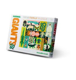 """Crocodile Creek Giants Family Puzzle """"Animal Giants"""""""
