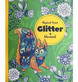 "Glitter kleurboek ""Mystical Forest"""