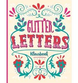 """Glitter kleurboek """"Letters"""""""