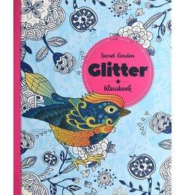 "Glitter kleurboek ""Secret Garden"""