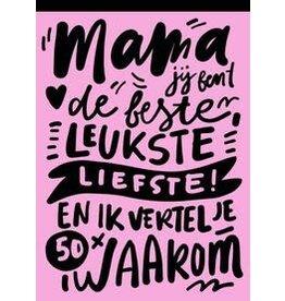 Invulboek Mama