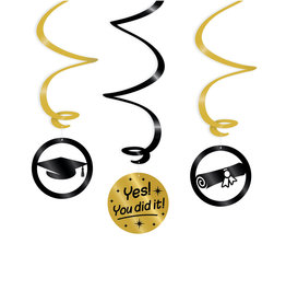Yes You Did It! Swirl Deco