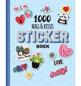 Stickerboek - 1000 Hugs & Kisses