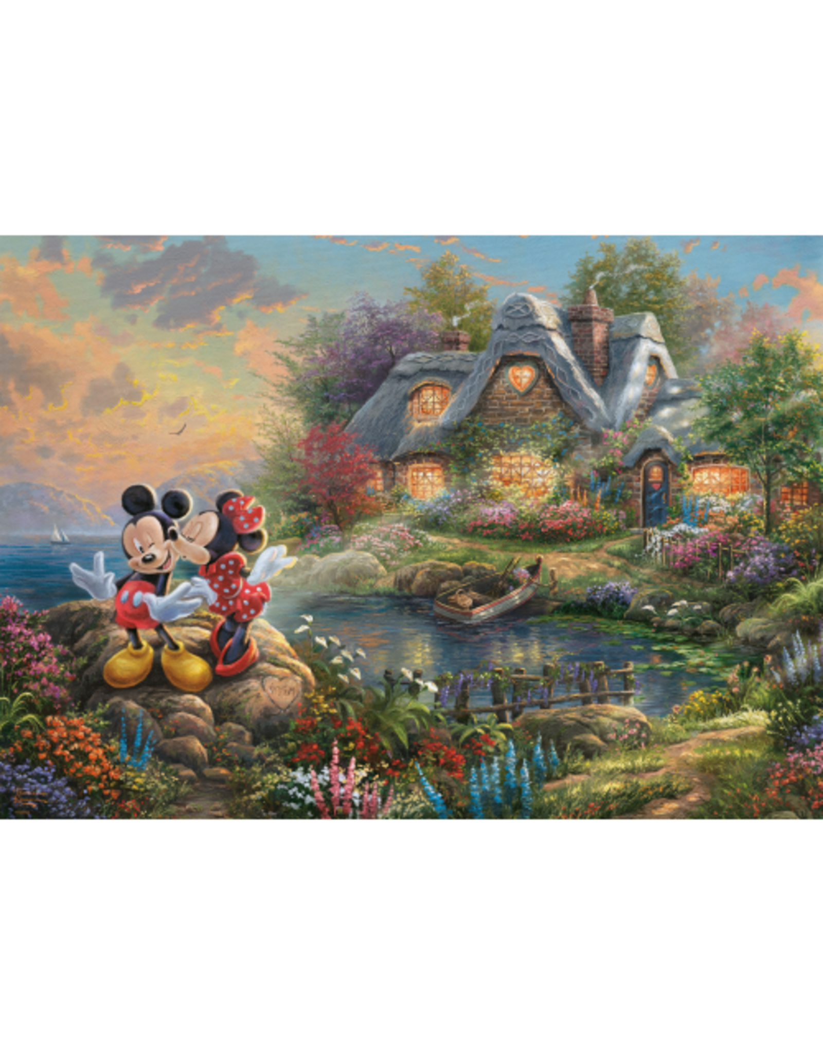 """Schmidt Disney Puzzel """"Mickey & Minnie"""""""