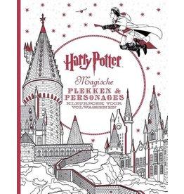 Kleurboek Harry Potter - Magische plekken en personages